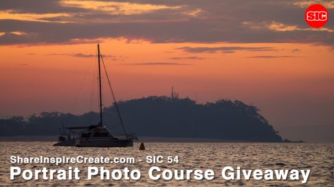 SIC 54 - Portrait Photo Course Giveaway