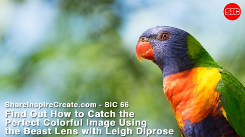 SIC 66 - Find Out How to Catch the Perfect Colorful Image Using the Beast Lens with Leigh Diprose