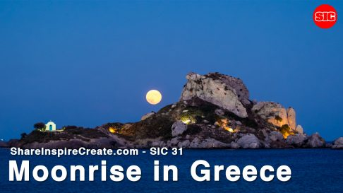 SIC 31 Ugo Cei - Moonrise in Greece